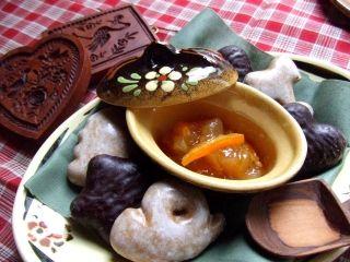 りんご×オレンジ×はちみつ×パンデピス・スパイス  りんご(紅玉)、砂糖、オレンジ、はちみつ、レモン果汁、パンデピス・スパイス、ペクチン(リンゴ由来)