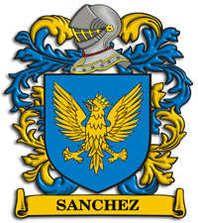 ESCUDO DE LA FAMILIA SANCHEZ