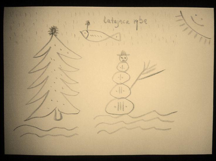 Nie umiem rysować, brak mi dobrej kreski, a przyśniło mi się wczoraj że umiem. Jako dziecko chciałam ładnie rysować, nie wychodziło mi za bardzo, martwiło mnie to. Potem z tego wyrosłam. Widać nie ...