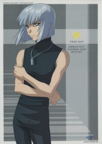 Gundam Seed Destiny poster official Japan Yzak Jule