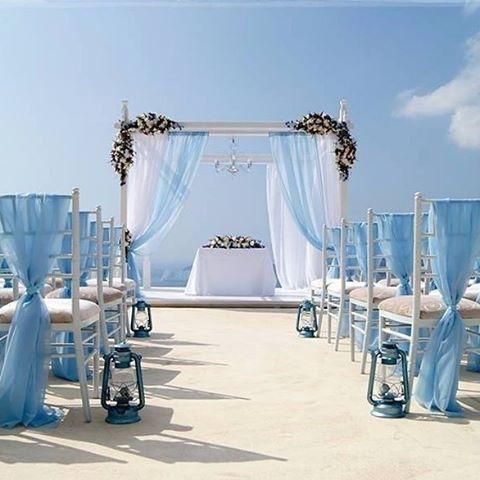Island wedding dreams by @eliteeventsathens_santorini a bride's go to destination wedding planner and florist in Santorini and Athens. #EliteEventsSantorini #EliteEventsAthens #destinationwedding #weddingplanner #weddingplanning #destinationbride #beachbr