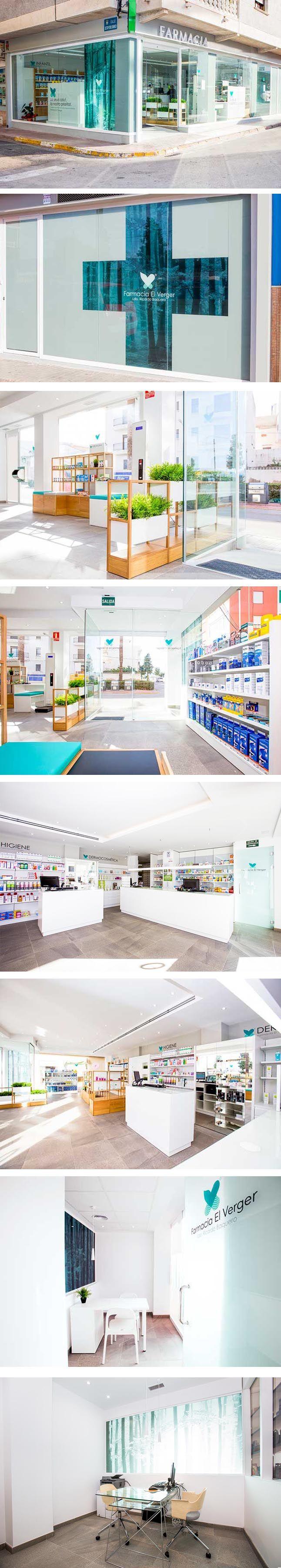 Resultado final Farmacia Verger realizada por Rosacoloma. Diseño Imagen Gráfica by G2. (Imagenes de Rosacoloma)