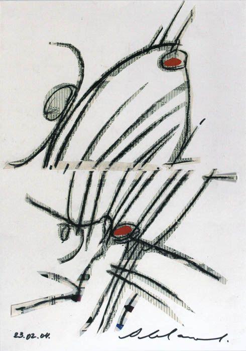 В грядущую субботу, 22-го декабря на Кружке скорого рисунка состоится мастер-класс Александра Андреевича и его ученицы Ольги Иордан по технике коллажа. Подробности и контакты для записи на мастер-класс здесь .