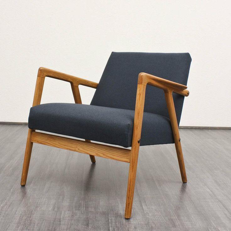 Alf Svensson; Ash Lounge Chair, 1950s.