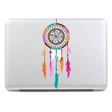 skinat avtagbar avery färger minoritets smycken läppar tablet och bärbar dator klistermärke för macbook air 11170 * 270mm – SEK Kr. 103
