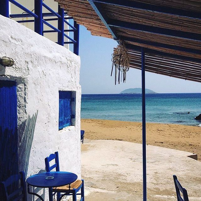 Blue & White perfection , at Anafi island (Ανάφη). A small alternative island , exactly what you need for your private vacation away from the crowds .