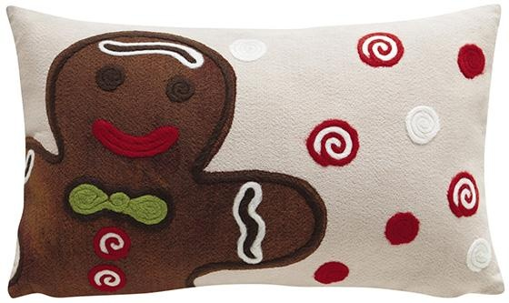 Gingerbread Decorative Pillows : Gingerbread Decorative Pillow HomeDecorators.com Christmas in the South Pinterest ...