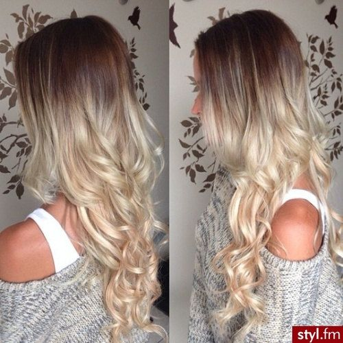 7 best dip dyed hair images on pinterest dip dye hair balayage dip dye 8a remy dip dye ombre balayage clip in human hair extensions brown pmusecretfo Gallery