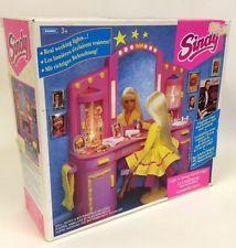 Hasbro 1993 Sindy Doll Furniture - Lights N Sound Vanity Set UNUSED + BOX 18326
