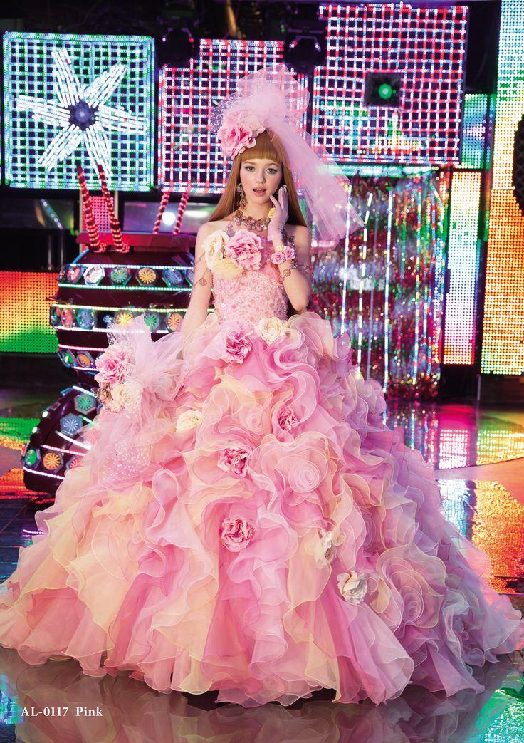 2014新作ドレス|A913T-pink-880_princess