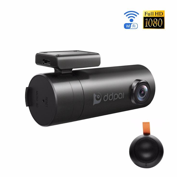 Ddpai mini wifi mobil dvr 1080 p fhd night vision dash cam recorder rotatable lens mobil kamera nirkabel snapshot auto camcorder