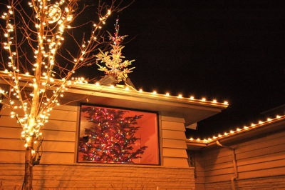 Kruger, 41, and an architect by trade, bought a 14-foot-tall Christmas tree last Saturday and placed it in the front window of the Seattle home he shares with his wife, Maggie, and 4-year-old son, Miles.