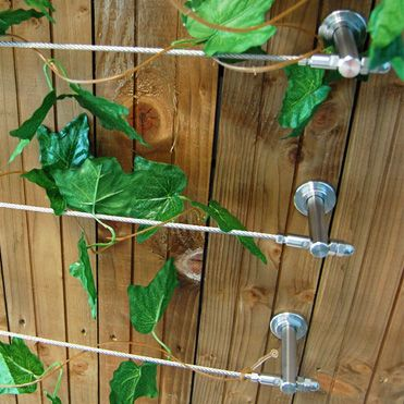 Tensioned Stainless Steel Wire Trellis DIY Kit
