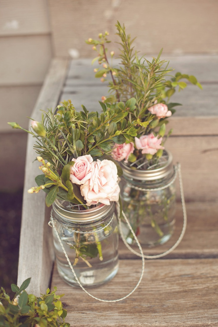 pictures of wedding centerpieces using mason jars%0A Mason Jar Flower Frog LIDS  Set of     Upcycled DIY Flower Arrangers or  Potpourri Lids  Wedding Bouquet or Centerpiece  Woodland  Shabby