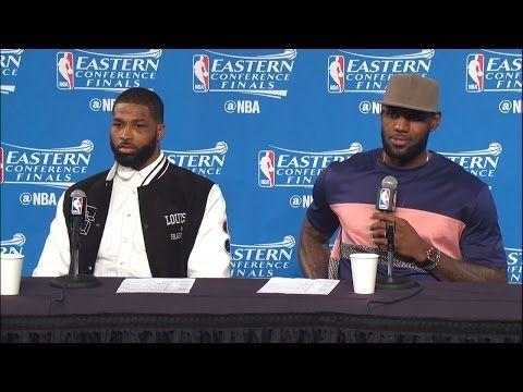 MAX SPORTS: NBA PLAY-OFFS: LEBRON JAMES & TRISTAN THOMPSON EAS...