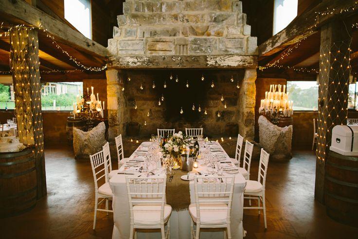 Peppers Creek Barrel Room wedding. Hunter Valley Wedding Venue. Image: Cavanagh Photography http://cavanaghphotography.com.au