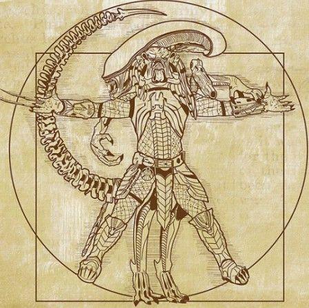 Vitruvian Hunter Alien vs Predator - Let GToE do the hunting for you.