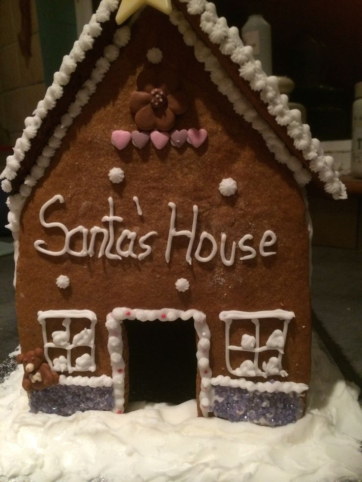 Gingerbread House - each December I am giving classes on how to construct and decorate a gingerbread house. Such a part of Christmas @ The Cottage
