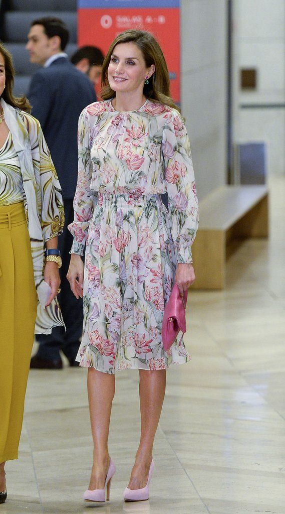 Queen Letizia of Spain's Best Outfits in 2017 | POPSUGAR Latina