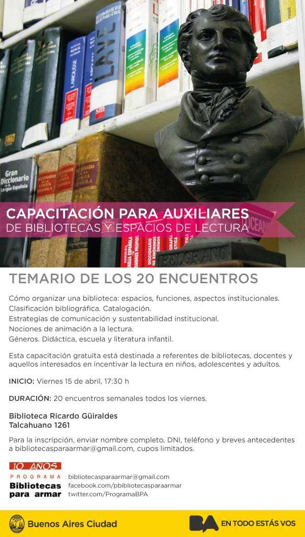 Lectura y biblioteca | LITERARIAS | Por Gabriela Mariel Arias