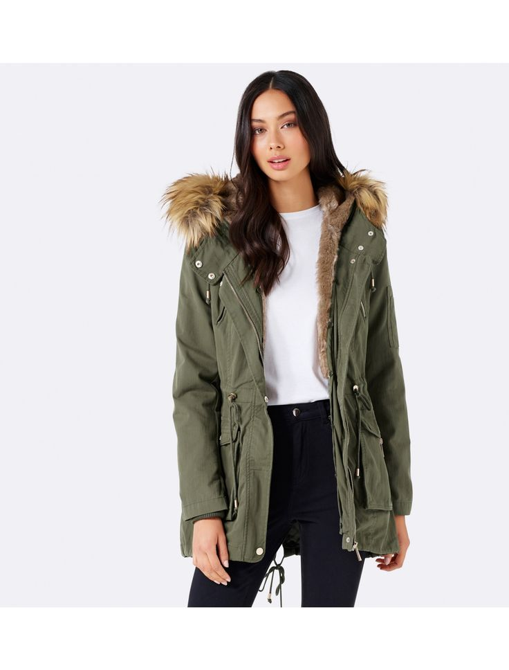 Layer up in style with our Brody Parka, perfect to add a little polish to any ensemble.