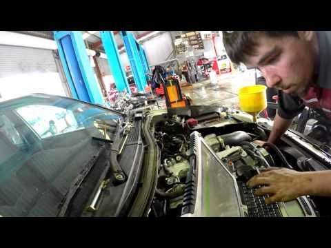 cameron is replacing 4D56 engine of mitsubishi triton for the first time