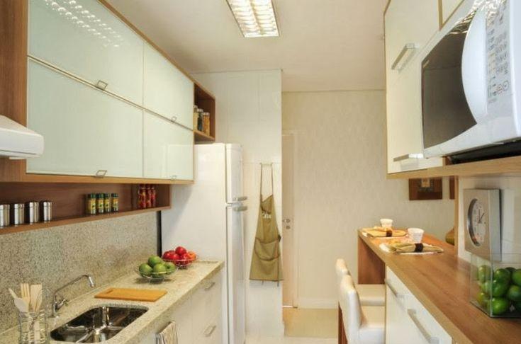 Meu Palácio de 64m²: Inspiração para cozinha do apê