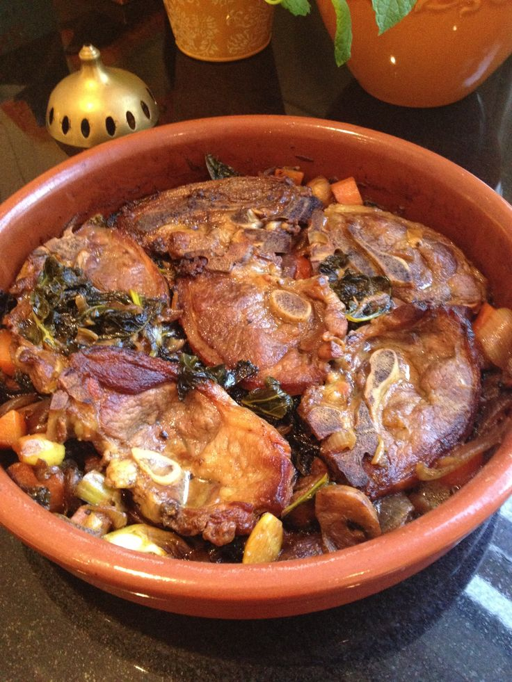 Lamb Tagine with Vegetables and Honey