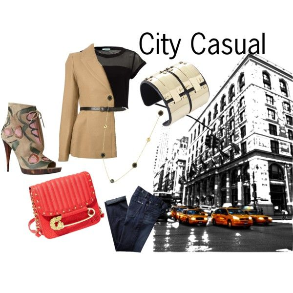 """""""city casual"""" by sferris8 on Polyvore"""