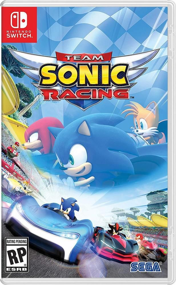 Team Sonic Racing Nintendo Switch released May 21, 2019  Pre
