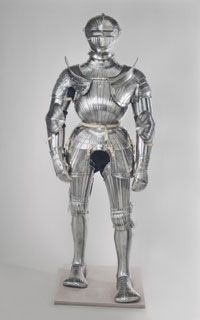Armor, made in Landshut and made in Nuremberg 1529, with modern additions c. 1805
