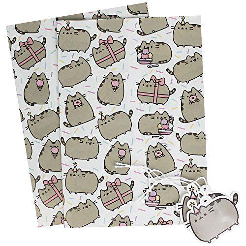 Pusheen Gift Wrap And Tag Set Pusheen https://www.amazon.co.uk/dp/B01LT5O2S0/ref=cm_sw_r_pi_awdb_x_fQ87zbTQ9E332
