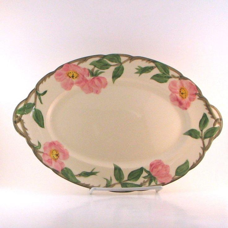 Vintage Franciscan Desert Rose Oval Serving Platter 12-1/2 & 435 best Franciscan Dishes images on Pinterest | Dinnerware Dish ...
