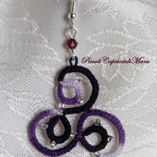 orecchini-viola-al-chiacchierino-cristalli-viola-perline-argentate-2