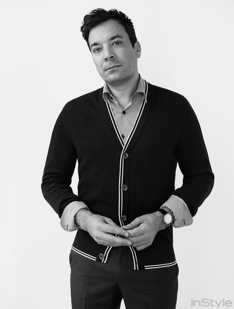 Jimmy Fallon Reveals His Go-To Photo Pose, Talks Fatherhood and More | InStyle.com