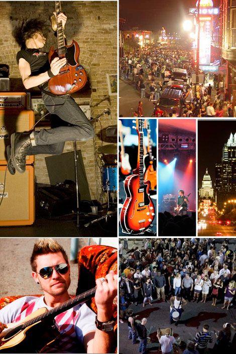 SXSW music festival, Austin, TX