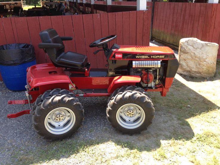 33 best Garden Tractors images – Articulated Garden Tractor Plans