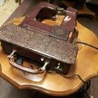 Freia 40's portable sewing machine. (From a Russian soldier)