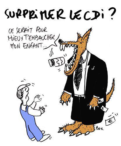 L'émission 28 minutes d'Arte revient sur le «contrat de projet» ou «CDI de mission» préparé par Emmanuel Macron et son équipe pour accroître la «flexibilité» du marché du