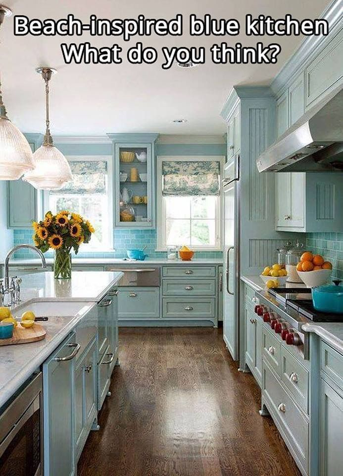 love everything about this kitchen dream home in 2019 blue rh pinterest com