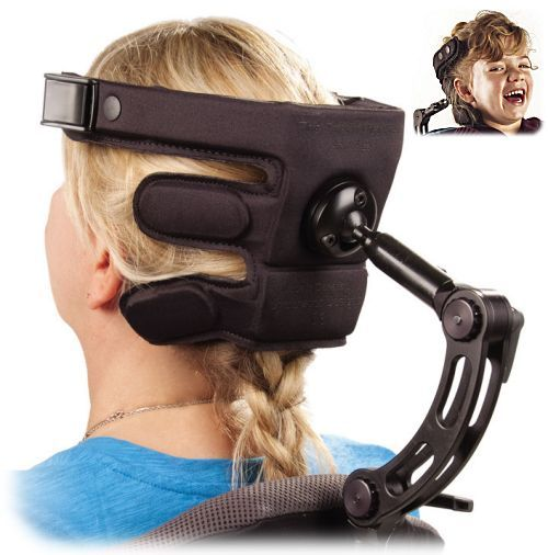 headrest with special wheelchair mount.>>> See it. Believe it. Do it. Watch thousands of spinal cord injury videos at SPINALpedia.com