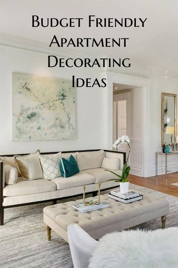 affordable ways to decorate your small apartment home decor rh pinterest com