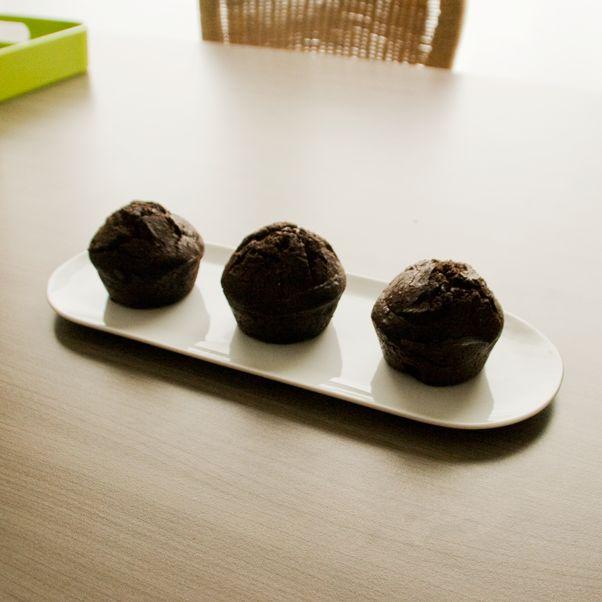 Koolhydraatarme chocoladecake (met amandelmeel)
