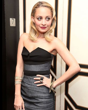 Nicole Richie - Nicole Richie is the adopted daughter of singer Lionel Richie. She was born as Nicole Camille Escovedo to Karen and Peter Michael Escovedo. Nicole was sent to live with Lionel and Brenda Harvey, because her biological parents were unable to provide for her. Lionel Richie became Nicole's guardian, and officially adopted her when she was nine years old.