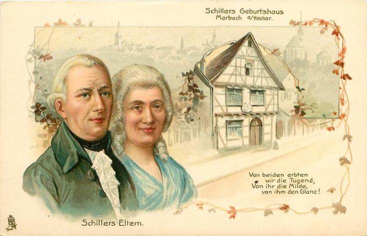 Friedrich Schiller & Charlotte von Lengefeld