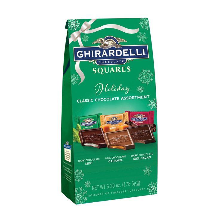 Ghirardelli Christmas Classic Assorted Squares Bag - 6.29oz.