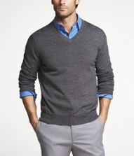 Simple, less formal than a suit.: Men Business Casual, Expressions Men, Grey Sweaters, V Neck Sweaters, First Date Outfits, Business Casual Attire, Shirts Men Formal Business, Guys Outfits, Business Casual Dresses