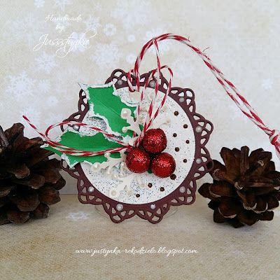 Handmade by Jussstynka: Z ostrokrzewem
