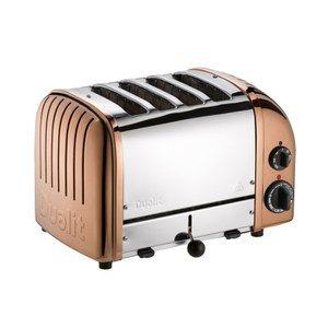 Dualit Classic Vario 4 Slot Toaster Copper