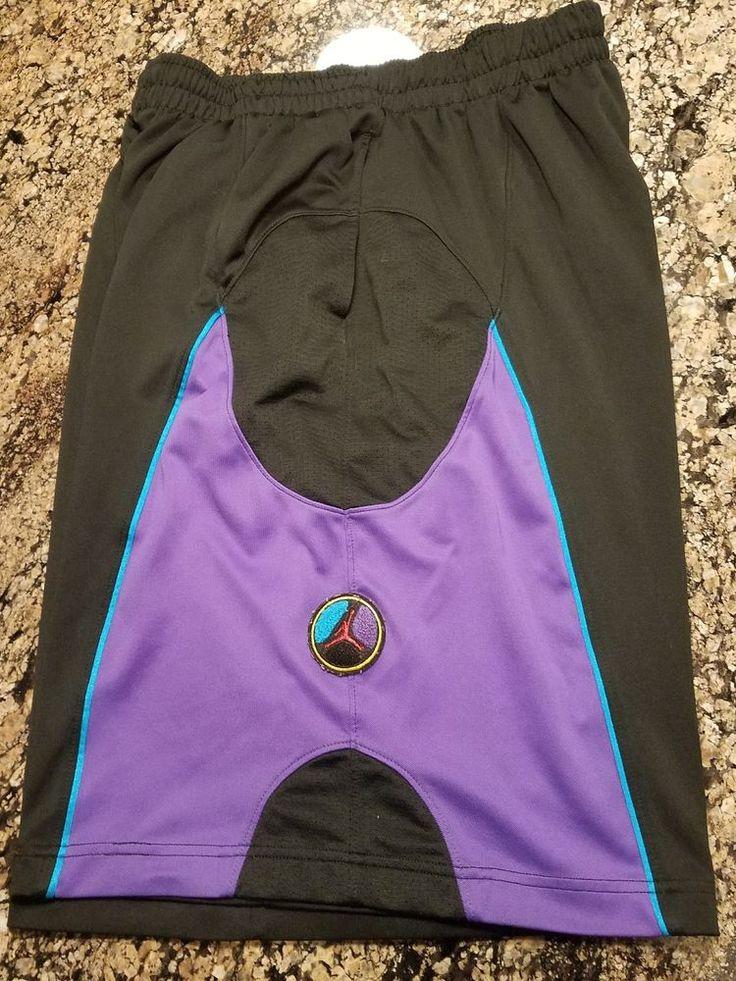 Nike Air Jordan Aqua 8 Shorts OG Size XXL 2XL Used  #Nike #Shorts
